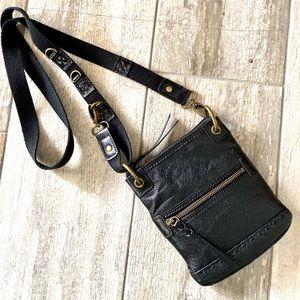 Crossbody Purse Bag The Sak Leather Black